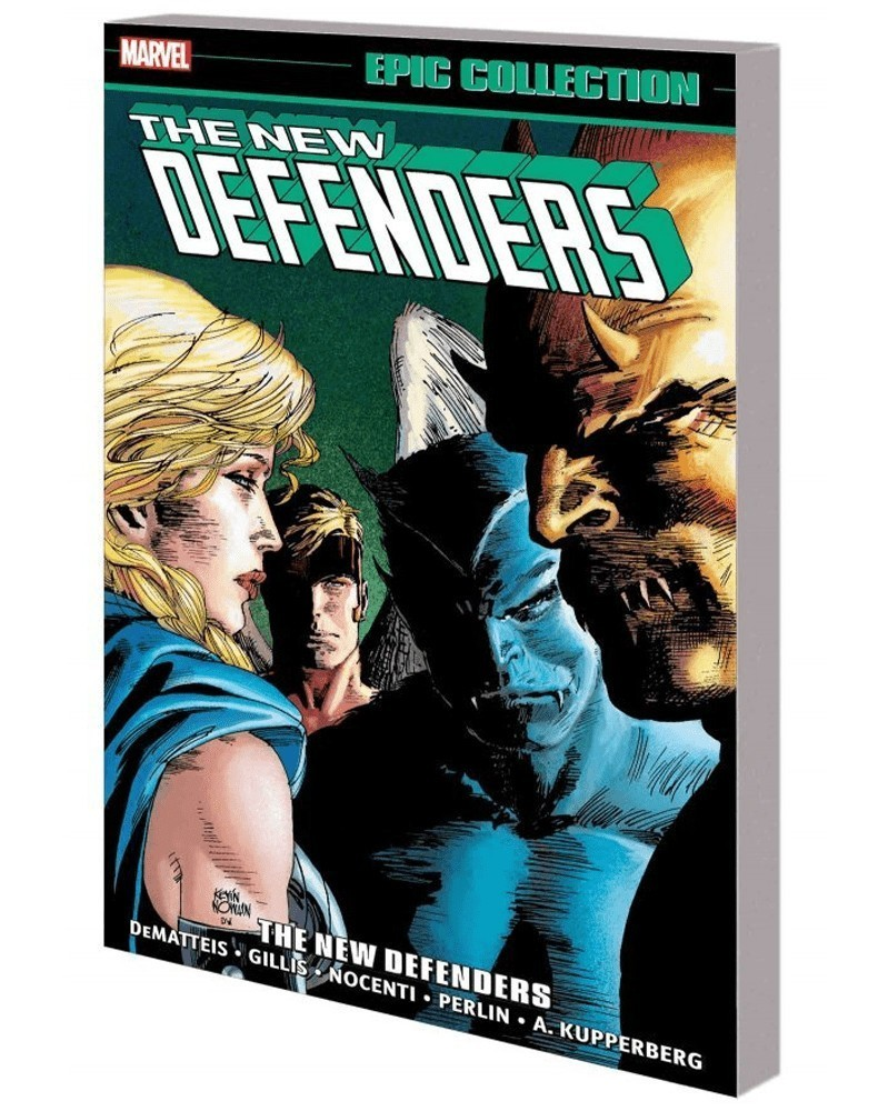 Defenders Epic Collection: The New Defenders, capa