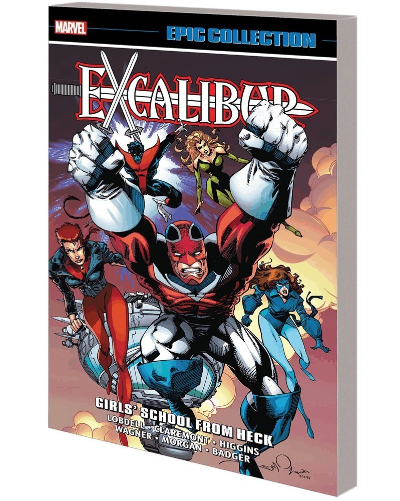 Excalibur Epic Collection: Girl's School From Heck, capa