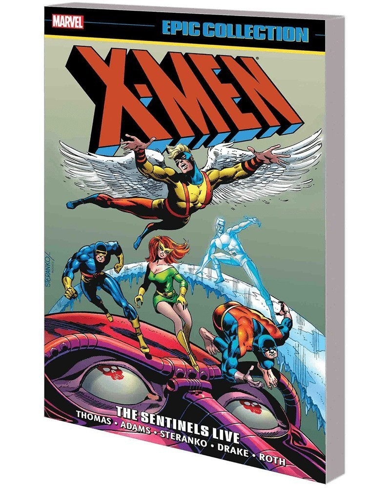 X-Men Epic Collection: The Sentinels Live, capa