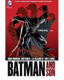 Batman and Son TP (Grant Morrison), capa