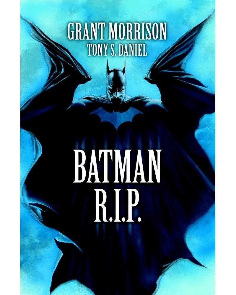 Batman RIP TP (Grant Morrison), capa