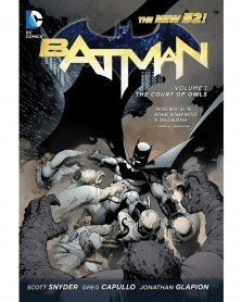 Batman (New 52) Vol.1: The Court of Owls TP (Snyder/Capullo), capa