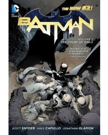 Batman (New 52) Vol.1: The Court of Owls TP (Snyder/Capullo), capa