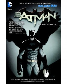 Batman (New 52) Vol.2: The City of Owls TP (Snyder/Capullo), capa