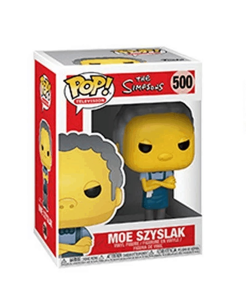 Funko POP Television - The Simpsons - Moe, caixa