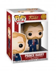 Funko POP Royals - Prince Harry, caixa