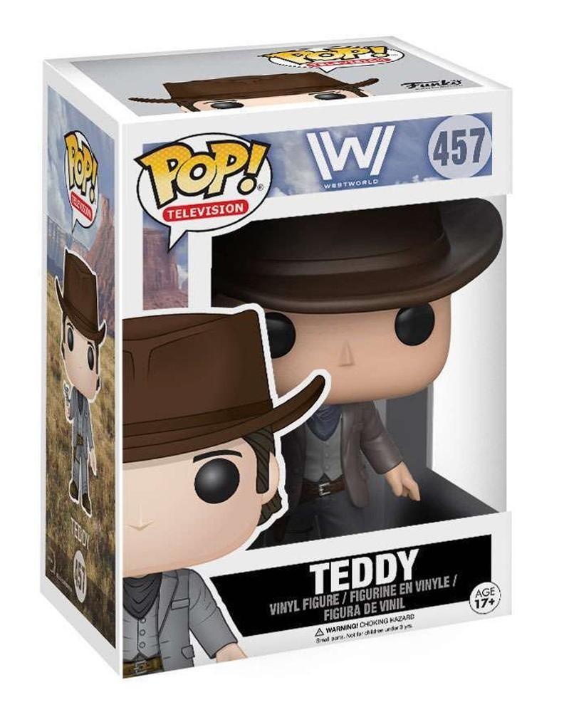 Funko POP Television - Westworld - Teddy, caixa