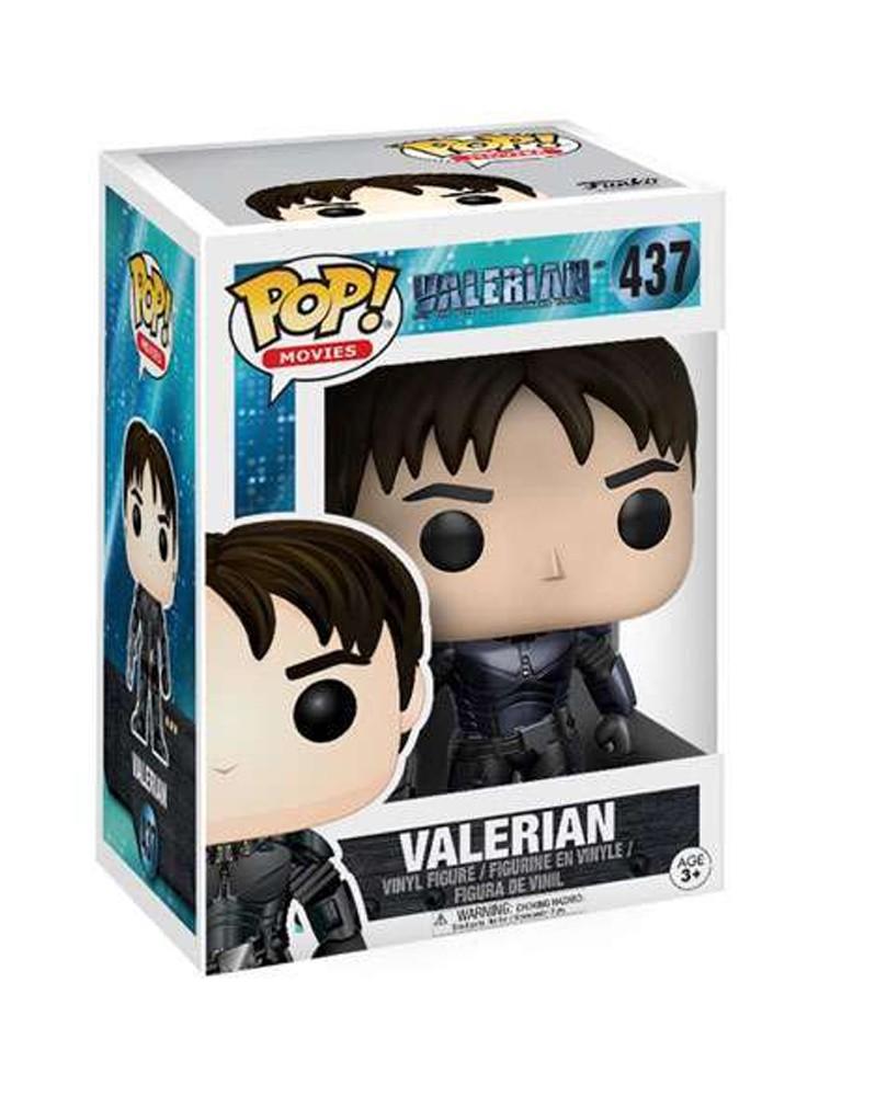 Funko POP Movies - Valerian - Valerian, caixa