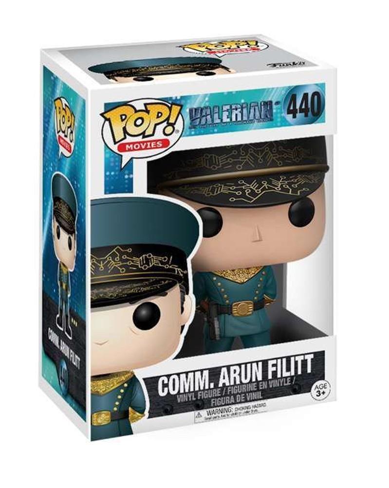 Funko POP Movies - Valerian - Commander Arun Filitt, caixa
