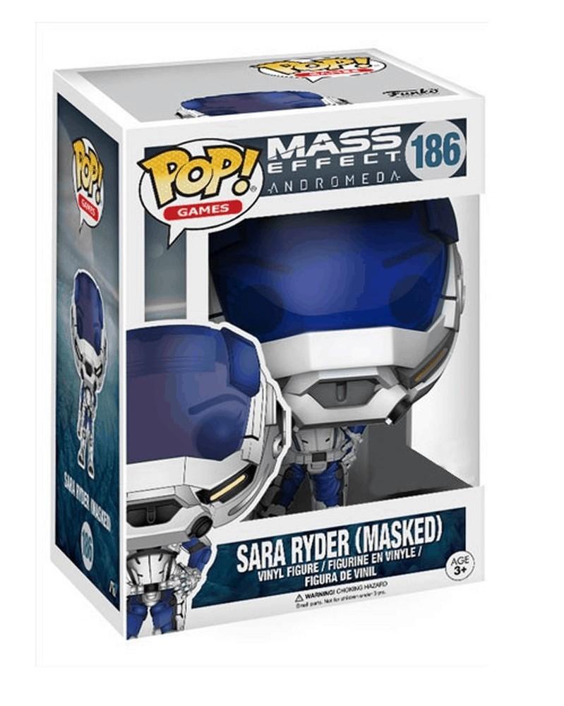 Funko POP Games - Mass Effect: Andromeda - Sara Ryder (Masked), caixa