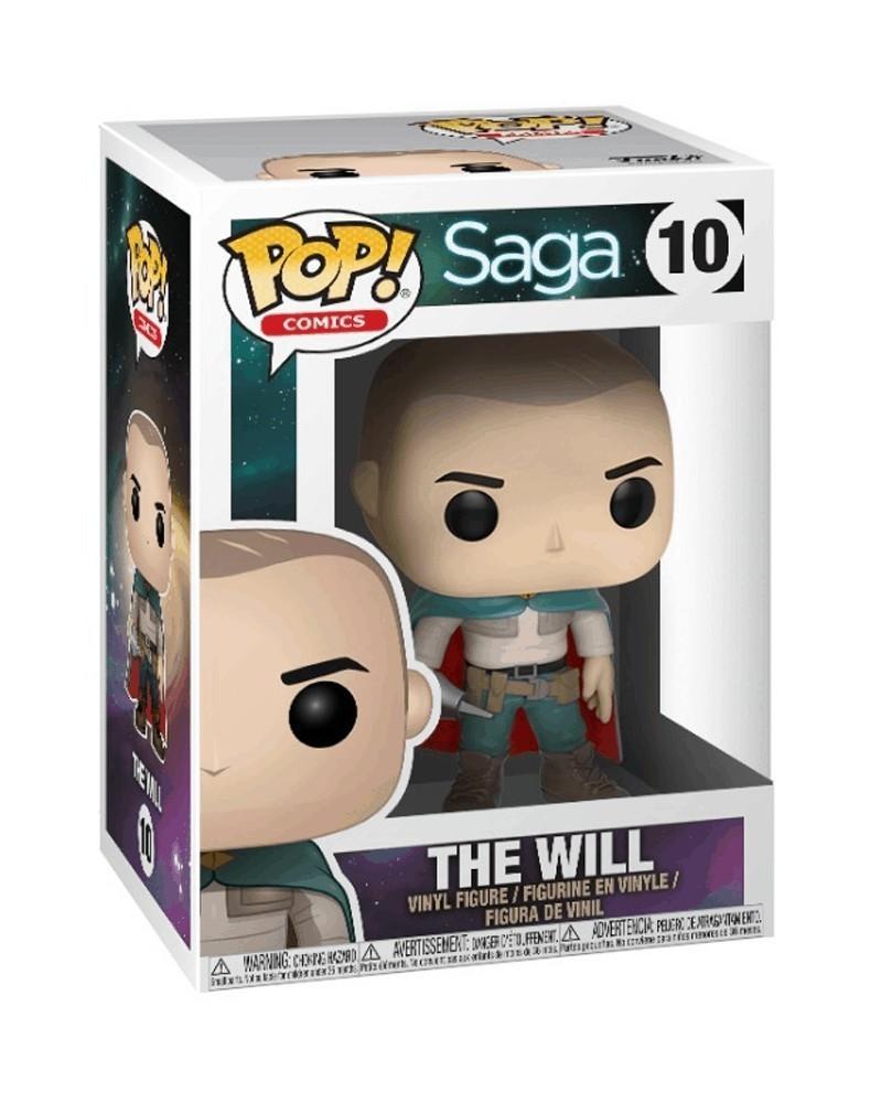Funko POP Comics - Saga - The Will, caixa