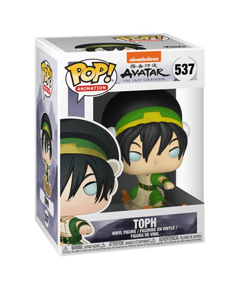 POP Animation - Avatar The Last Airbender - Toph, caixa