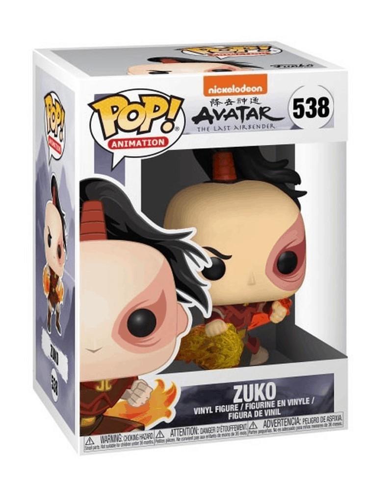 POP Animation - Avatar The Last Airbender - Zuko (caixa danificada)