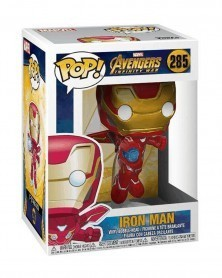 Funko POP Marvel - Infinity War - Iron Man, caixa