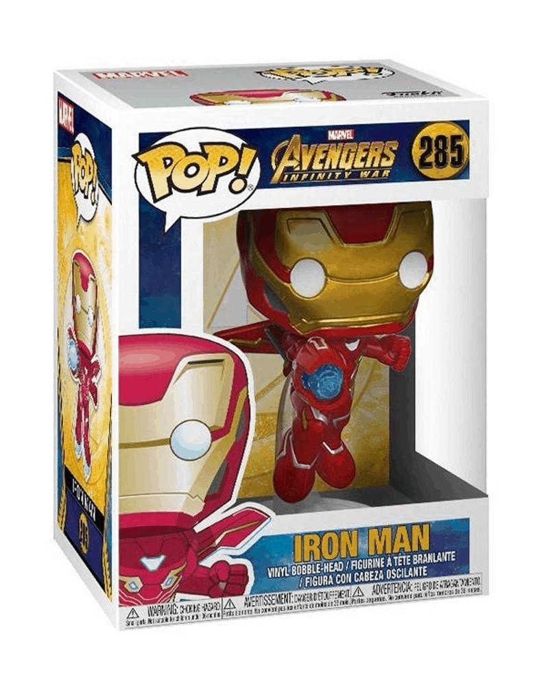 Funko POP Marvel - Infinity War - Iron Man, caixa