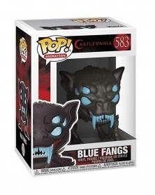 Funko POP Anime - Castlevania - Blue Fangs, caixa
