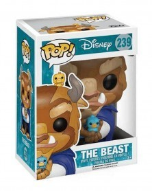Funko POP Disney - Beauty and The Beast - Beast with Birds, caixa
