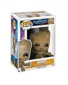 Funko POP Marvel - Guardians of The Galaxy 2 - Groot, caixa