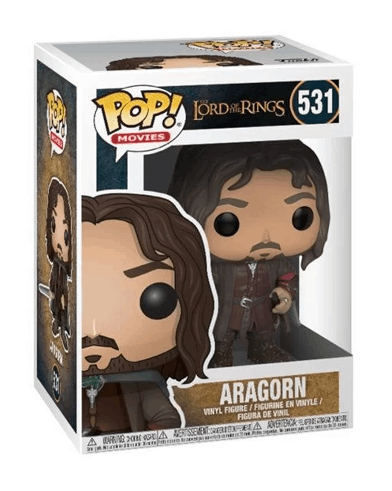 Funko POP Lord of The Rings - Aragorn, caixa