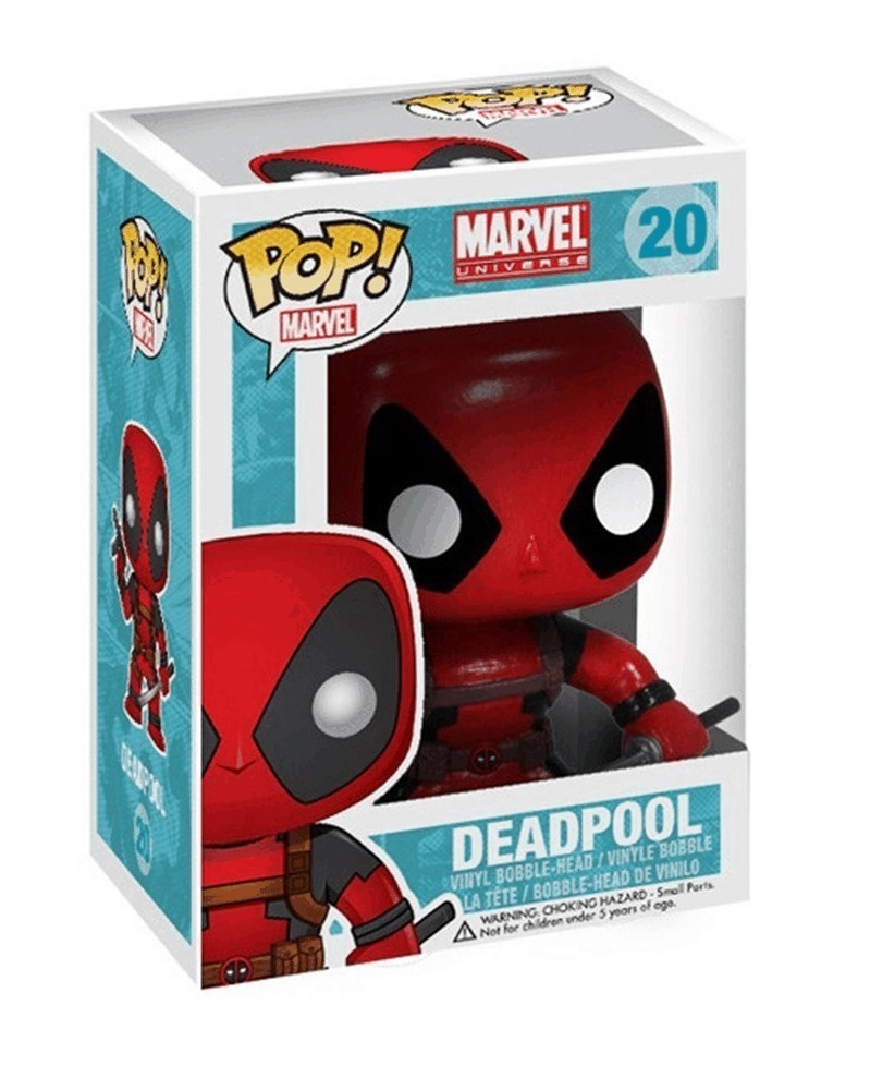 Funko POP Marvel - Deadpool, caixa
