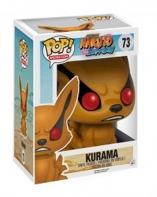 Funko POP Anime - Naruto Shippuden - Kurama, caixa