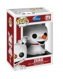 Funko POP Nightmare Before Christmas - Zero, caixa