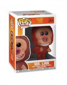 Funko POP Animation - Missing Link - Mr.Link, caixa