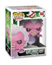Funko POP Movies - Ghostbusters 35 Years - Scary Library Ghost, caixa