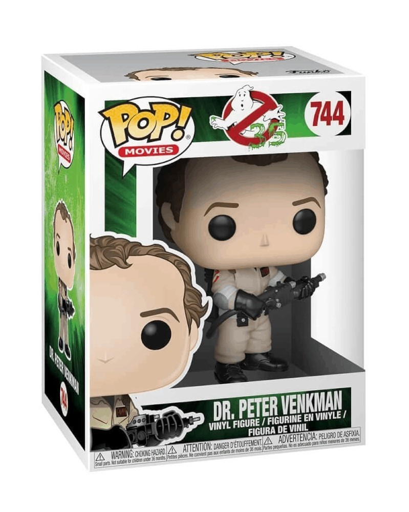 Funko POP Movies - Ghostbusters 35 Years - Dr. Peter Venkman, caixa