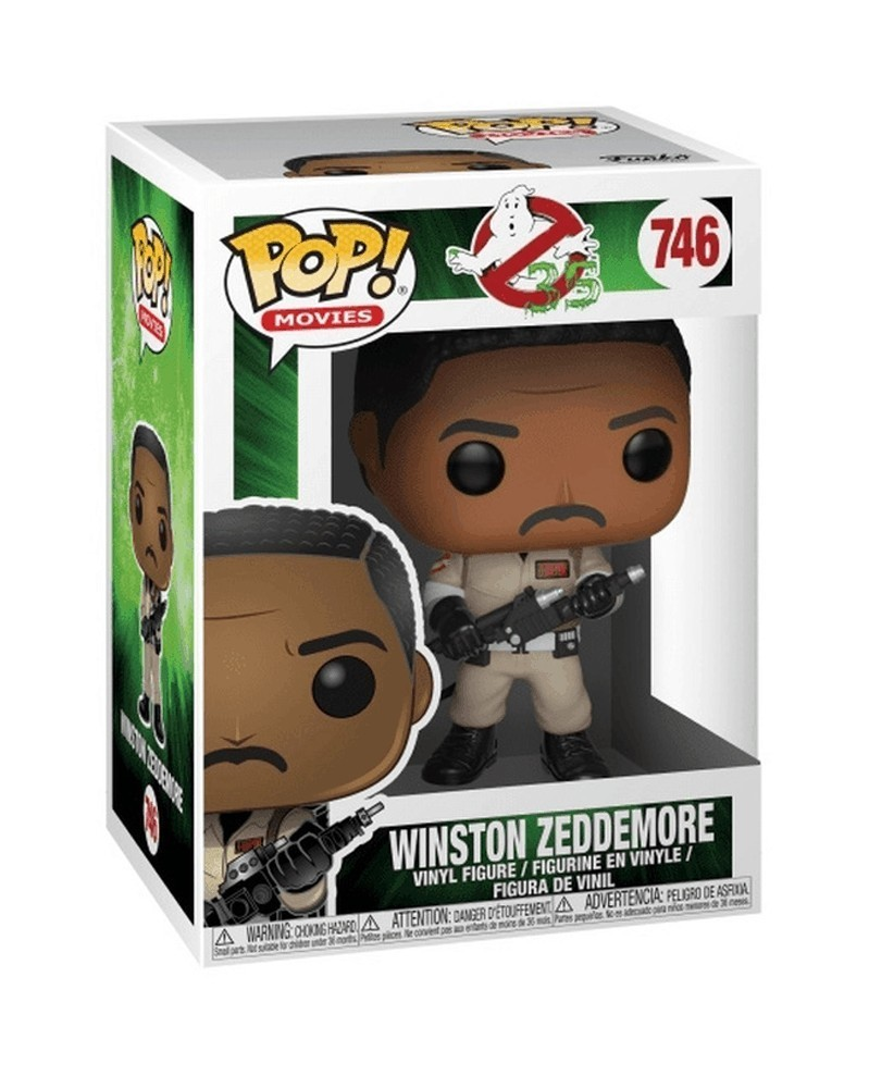 Funko POP Movies - Ghostbusters 35 Years - Winston Zeddemore, caixa