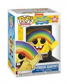 POP Animation - Spongebob Squarepants - Rainbow Spongebob, caixa