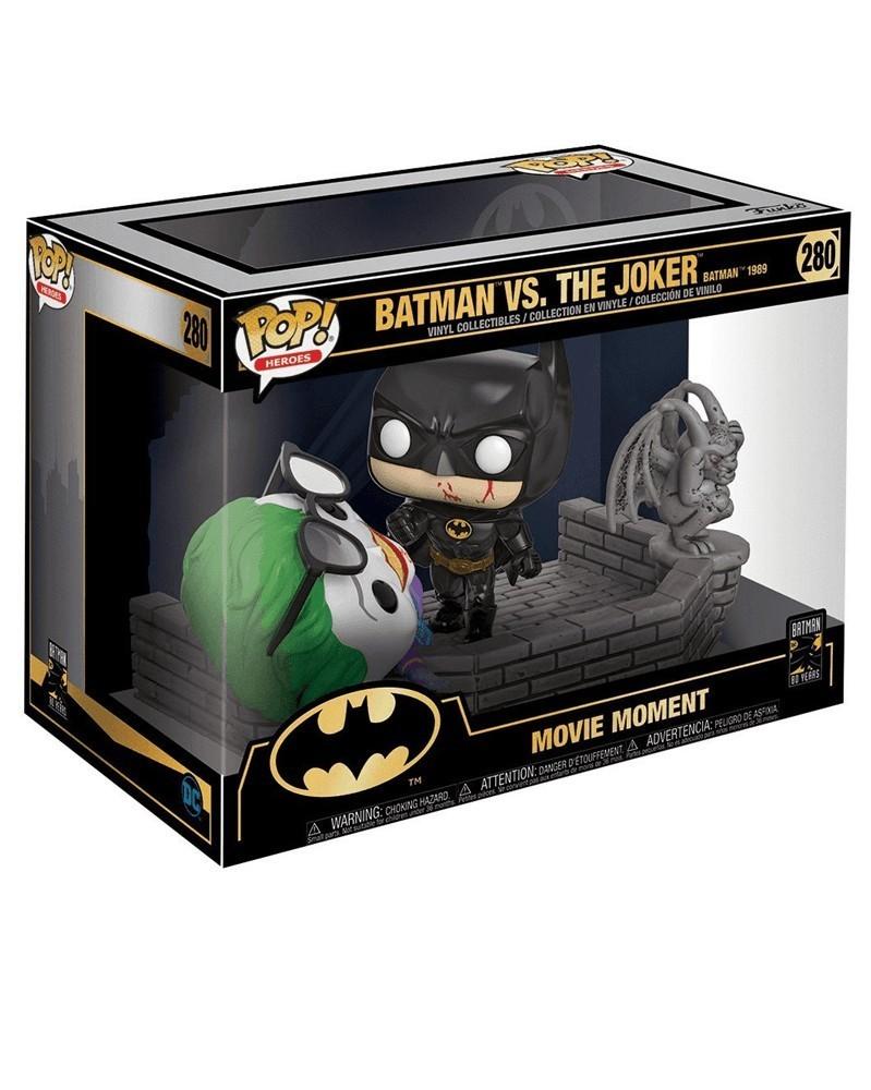 POP Movie Moment - Batman: 80th Anniversary - Batman vs Joker (1989), caixa