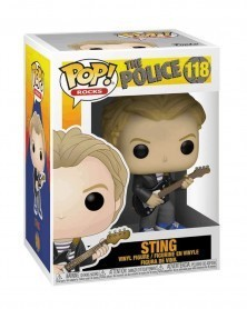 Funko POP Rocks - The Police - Sting, caixa