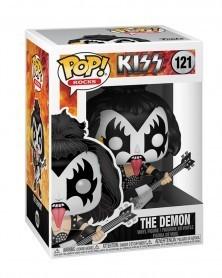 Funko POP Rocks - Kiss - The Demon, caixa
