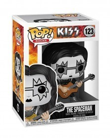 Funko POP Rocks - Kiss - The Spaceman, caixa