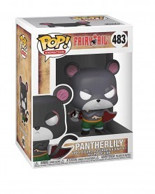 Funko POP Anime - Fairy Tail - Pantherlily, caixa