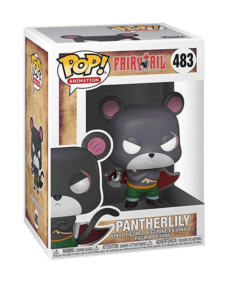 Funko POP Anime - Fairy Tail - Pantherlily, caixa
