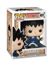 Funko POP Anime - Fairy Tail - Gajeel, caixa