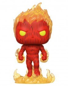 PREORDER! Funko POP Marvel - Fantastic Four - Human Torch