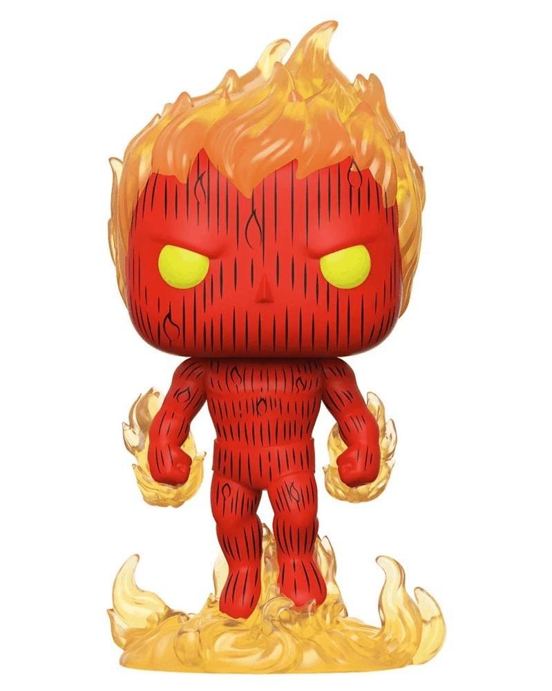 PREORDER! Funko POP Marvel - Fantastic Four - Human Torch