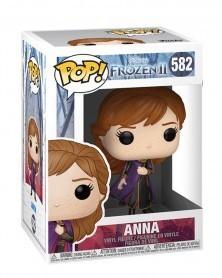 Funko POP Disney - Frozen 2 - Anna, caixa