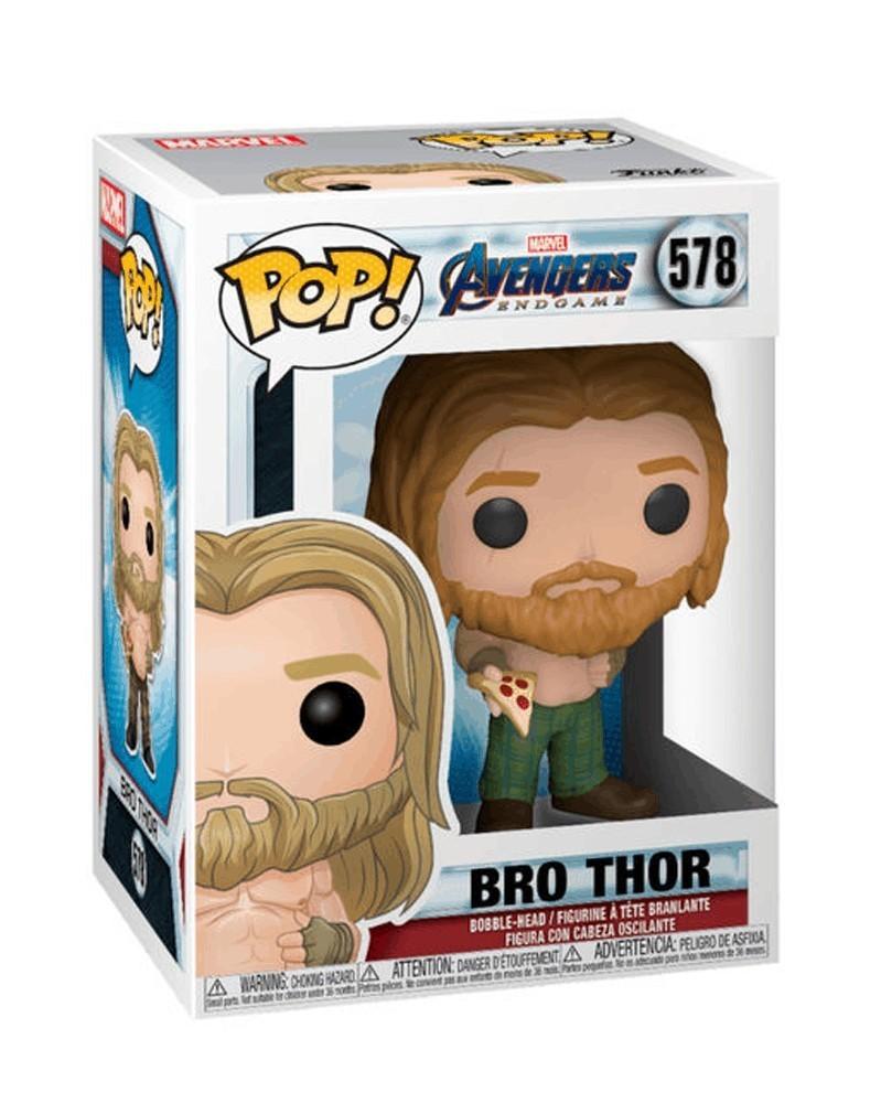 PREORDER! Funko POP Avengers: Endgame - Bro Thor (w/Pizza), caixa