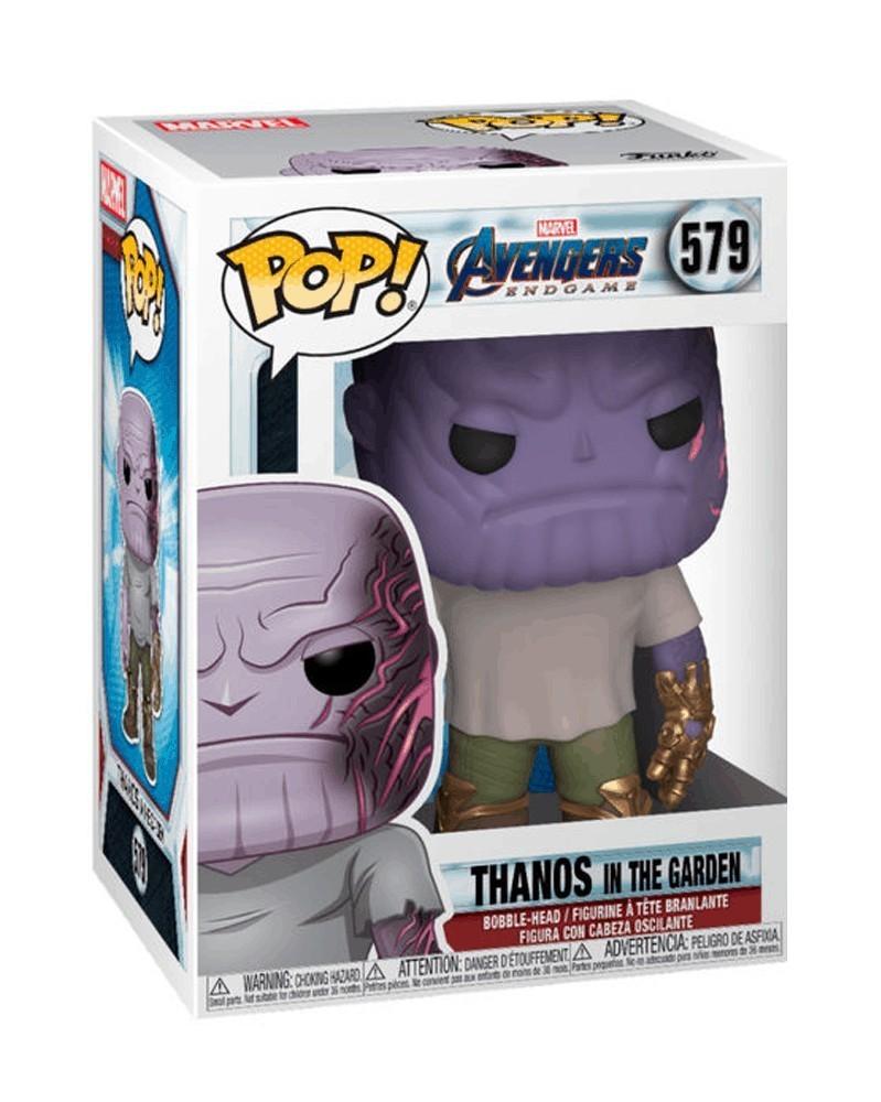 PREORDER! Funko POP Avengers: Endgame - Thanos in The Garden, caixa