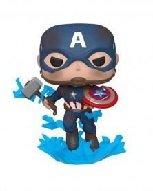 POP Avengers: Endgame - Captain America (w/broken shield)