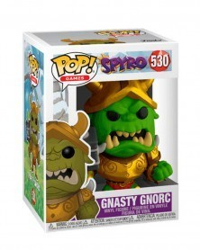 Funko POP Games - Spyro The Dragon - Gnasty Gnorc, caixa