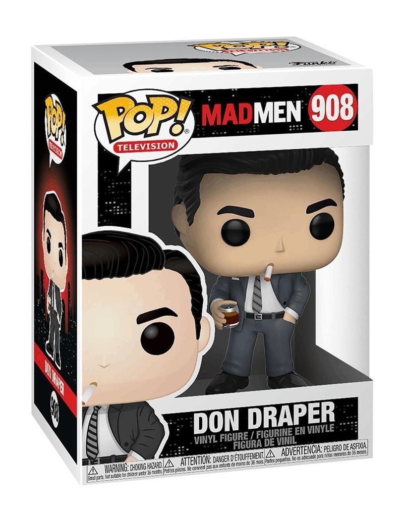 Funko POP Television - Mad Men - Don Draper, caixa