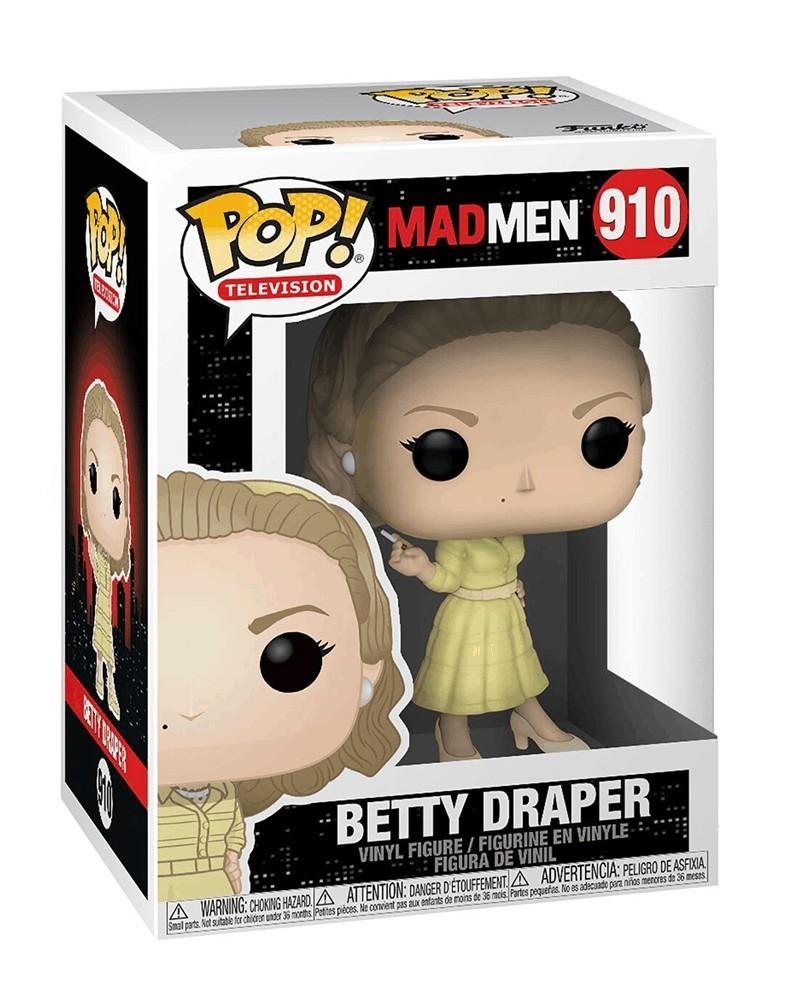 Funko POP Television - Mad Men - Betty Draper,caixa