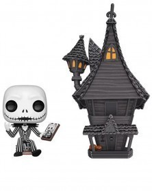 POP Disney - Nightmare Before Christmas - Jack Skellington & Jack'sHouse