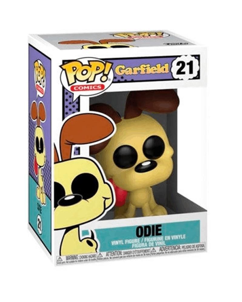 Funko POP Comics - Garfield - Odie, caixa
