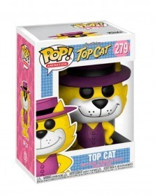 Funko POP Animation - Hanna Barbera - Top Cat, caixa
